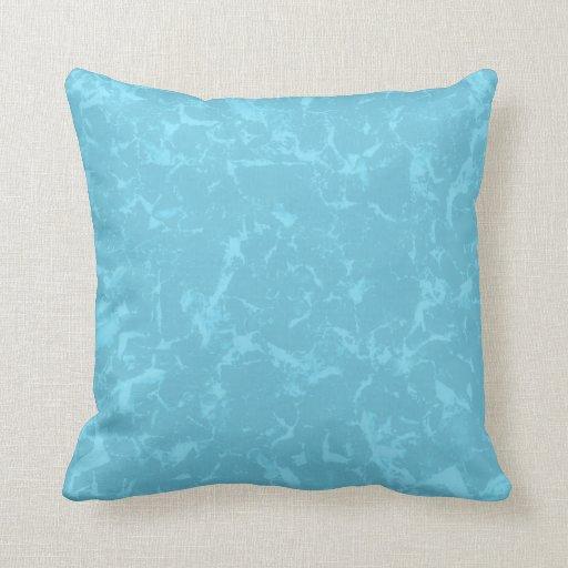 Diseño abstracto azul del fondo del modelo cojines