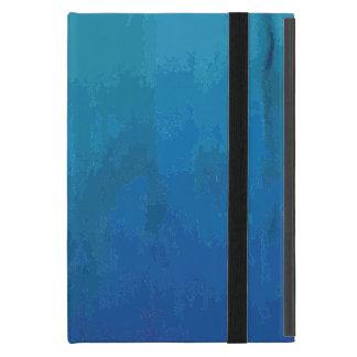 Diseño abstracto azul fresco del Grunge de la iPad Mini Cárcasas