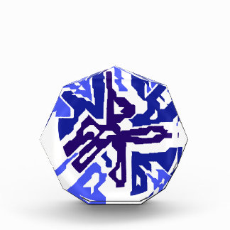 Diseño abstracto azul por Moma