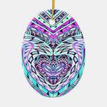 Diseño abstracto colorido adorno para reyes