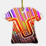 Diseño abstracto colorido adornos