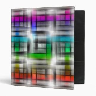 """Diseño abstracto colorido carpeta 1"""""""