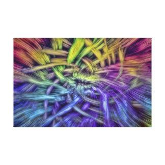 Diseño abstracto colorido de la armadura impresion en lona