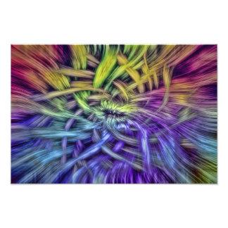 Diseño abstracto colorido de la armadura impresiones fotograficas