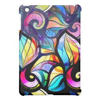 Diseño abstracto colorido de los remolinos