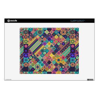 Diseño abstracto colorido del modelo de la teja portátil 30,5cm skins