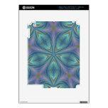 Diseño abstracto colorido iPad 3 skin