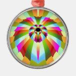 Diseño abstracto colorido ornamento de reyes magos