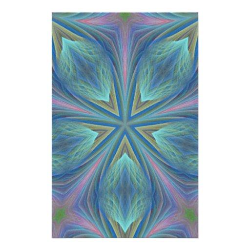 Diseño abstracto colorido papelería de diseño