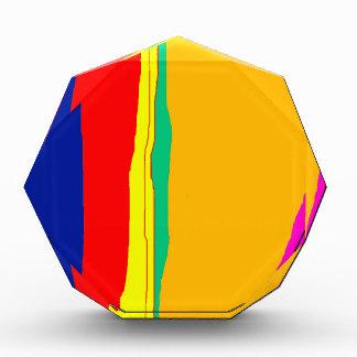 Diseño abstracto colorido por Moma