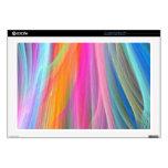 Diseño abstracto colorido portátil calcomanía