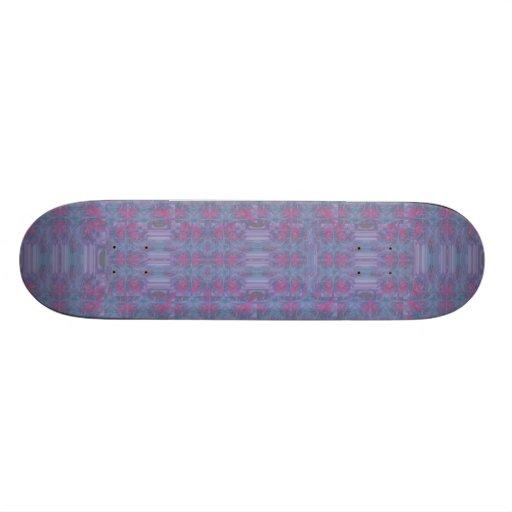Diseño abstracto colorido tablas de skate