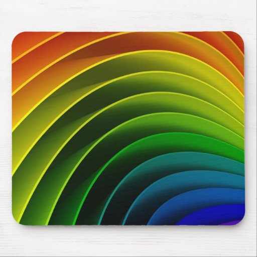 Diseño abstracto colorido tapete de ratón