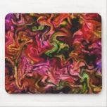 Diseño abstracto colorido tapete de ratones