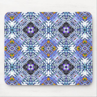 Diseño abstracto colorido mousepads
