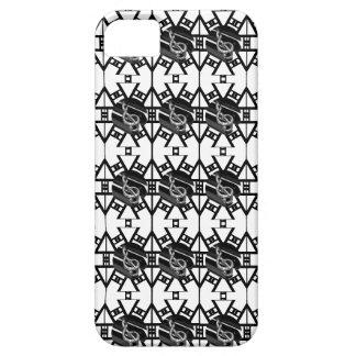 Diseño abstracto con la barra del piano iPhone 5 carcasa