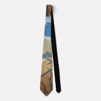diseño abstracto con los colores resumidos corbata