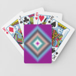 Diseño abstracto de encargo cartas de juego