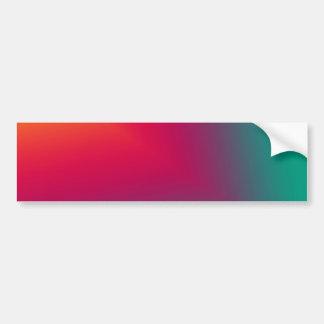 Diseño abstracto de encargo pegatina para auto