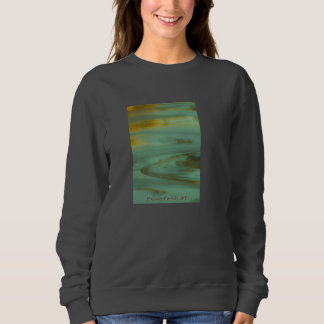 Diseño abstracto de la fotografía de Wyoming de la Playera