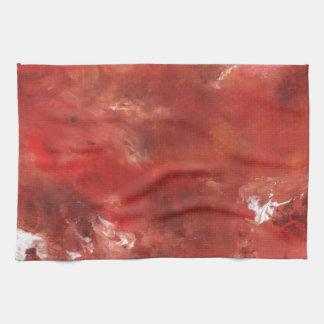 Diseño abstracto de la pintura original toallas