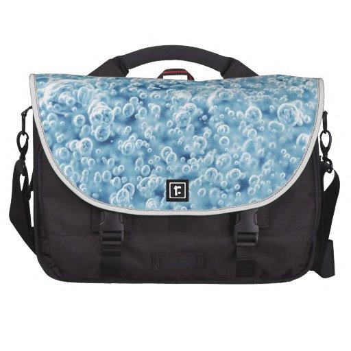 Diseño abstracto de las burbujas bolsas de portátil
