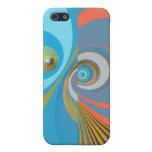 Diseño abstracto de las curvas iPhone 5 protector
