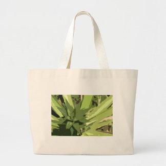 Diseño abstracto de las piñas bolsas lienzo