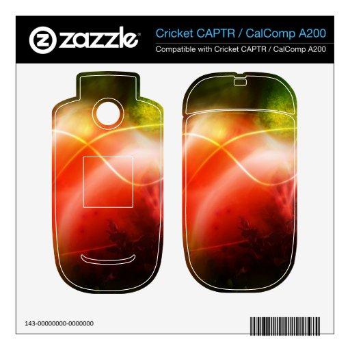 Diseño abstracto del arte del corazón cricket CAPTR skins
