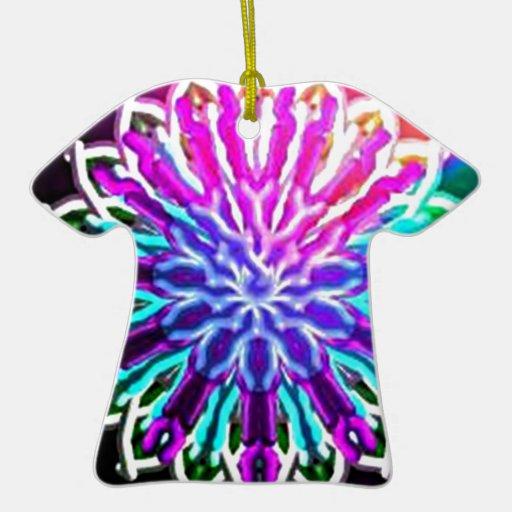 Diseño abstracto del caleidoscopio del arco iris adornos