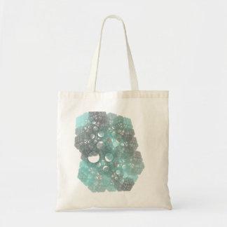 Diseño abstracto del fractal de BlueFall Bolsa Tela Barata