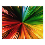 Diseño abstracto estallado arco iris colorido del  fotografias