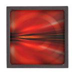 Diseño abstracto futurista caja de joyas de calidad