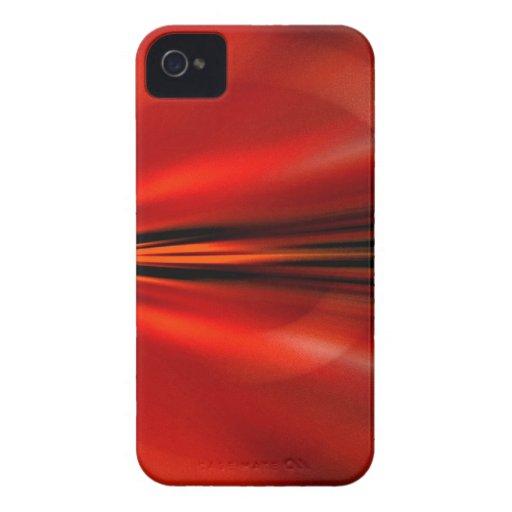 Diseño abstracto futurista iPhone 4 Case-Mate carcasa