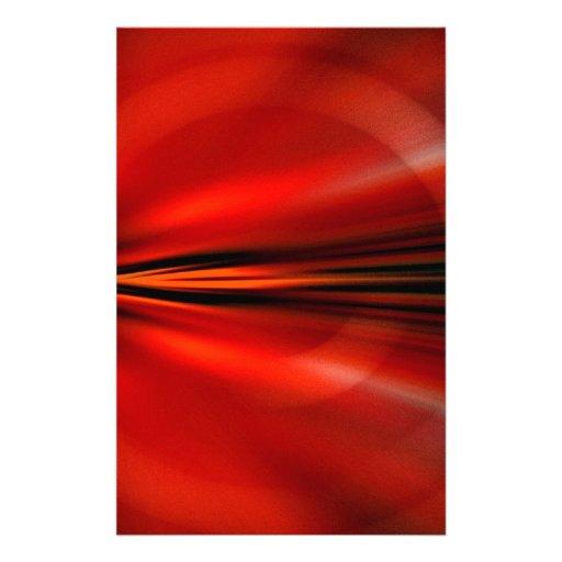 Diseño abstracto futurista  papeleria de diseño