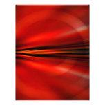Diseño abstracto futurista plantilla de membrete