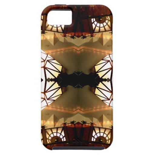 Diseño abstracto hábil inusual romántico bonito iPhone 5 Case-Mate cárcasas