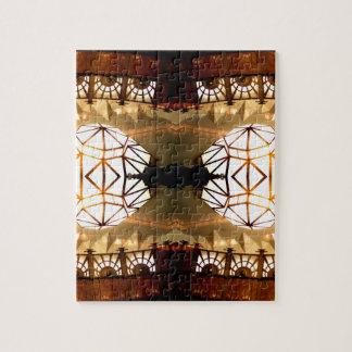 Diseño abstracto hábil inusual romántico bonito puzzles