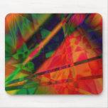 Diseño abstracto hermoso tapetes de raton