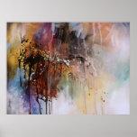 Diseño abstracto impresiones