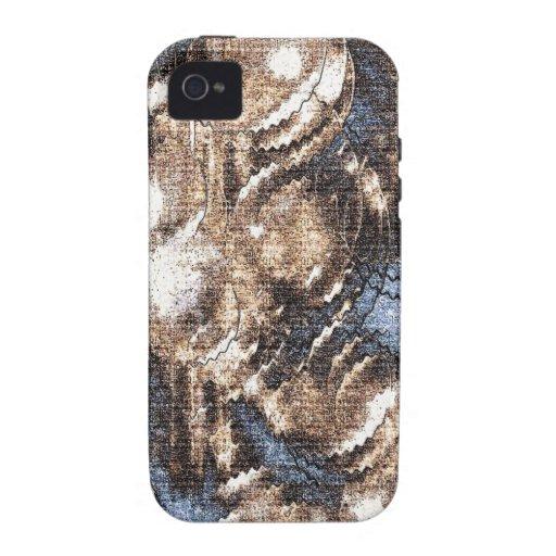 Diseño abstracto iPhone 4/4S carcasa