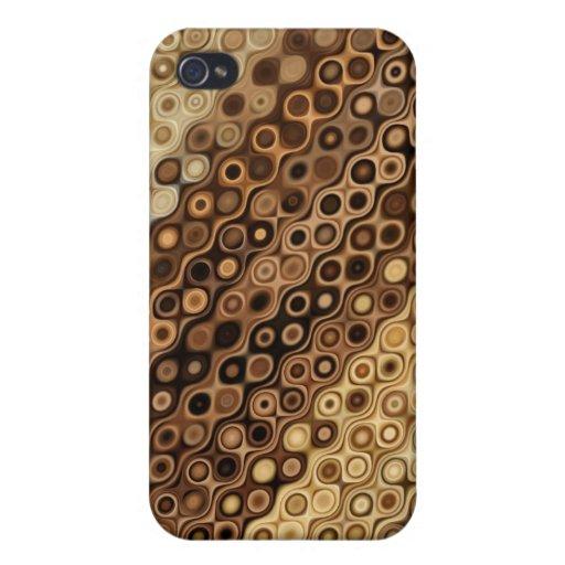 Diseño abstracto iPhone 4/4S fundas