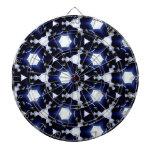 diseño abstracto loco tablero de dardos