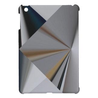 Diseño abstracto metálico 1 iPad mini cárcasa