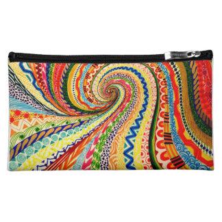 Diseño abstracto para el bolso cosmético