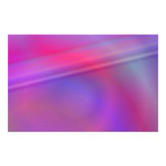 Diseño abstracto púrpura folleto 14 x 21,6 cm