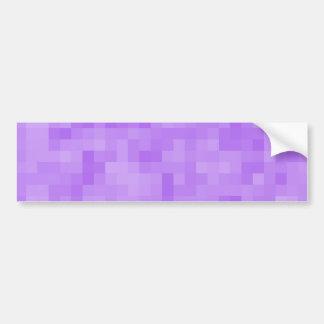 Diseño abstracto purpúreo claro pegatina para auto