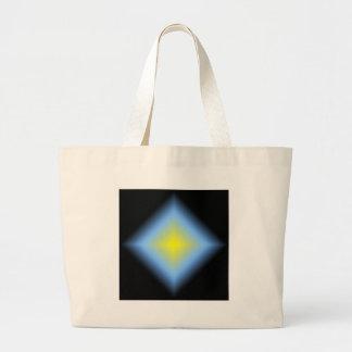 Diseño abstracto que brilla intensamente del perso bolsas de mano