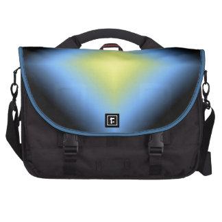 Diseño abstracto que brilla intensamente del perso bolsas para portátil
