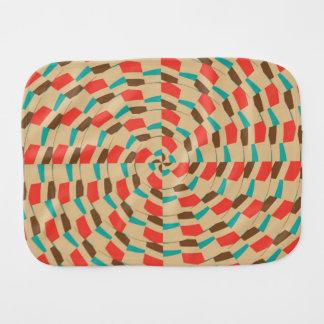 Diseño abstracto que teja de la mandala paños para bebé